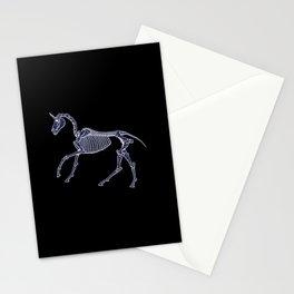 Unicorn Fossil Stationery Cards