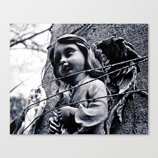 Angelic misery Canvas Print