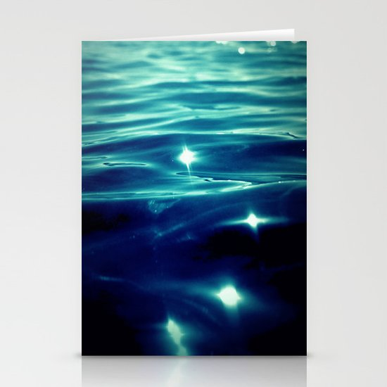 deep water Stationery Cards