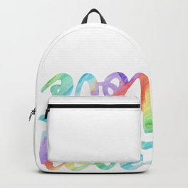Pride Gay Lesbian Homo Rainbow CSD Gift Backpack