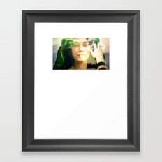 ADIEU Framed Art Print