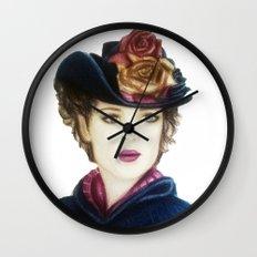 Irene Adler Wall Clock