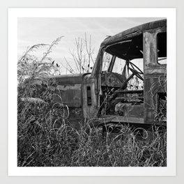 Salvage 10 Art Print