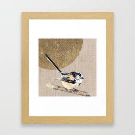 Long-tailed Tit Framed Art Print