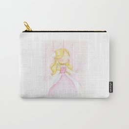 Pink princess | colored pencils children art Carry-All Pouch