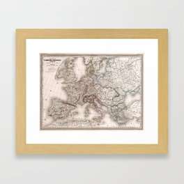 First French Empire in 1812 Framed Art Print
