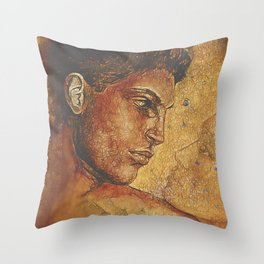 Yearning~ Man Throw Pillow