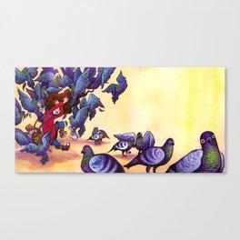 I Hate Pigeons Canvas Print