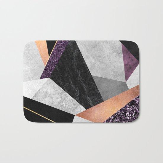 Purple Geo Bath Mat