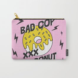 Bad Cop No Donut Black Lives Matter Print Against Police Brutality Carry-All Pouch