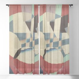 Construction of Delirium Sheer Curtain