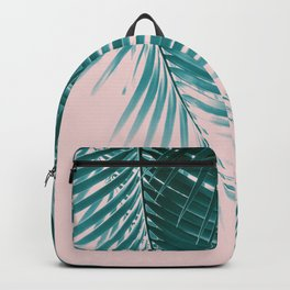 Palm Leaves Summer Vibes #1 #tropical #decor #art #society6 Backpack