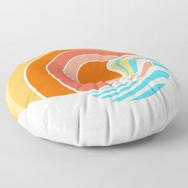Sun Surf Floor Pillow