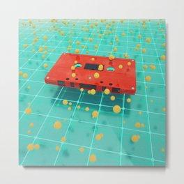 Cassette vibes Metal Print