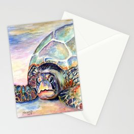 Turtle at Poipu Beach Stationery Cards