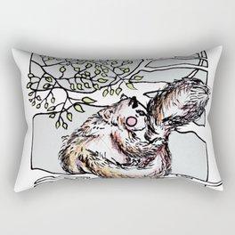 Squirrel time Rectangular Pillow