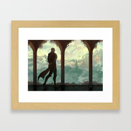 Halls of Arlathan Framed Art Print