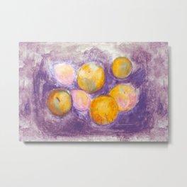 Fruits 8 Metal Print