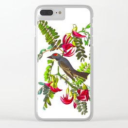 Piping Flycatcher Bird Clear iPhone Case