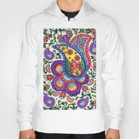 paisley Hoodies featuring Paisley by laurair