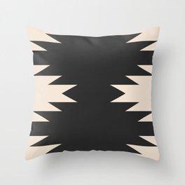 Minimal Southwestern - Charcoal Throw Pillow
