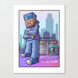 BBoy Stance Canvas Print
