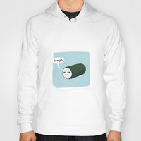 sushi Hoodies featuring SUSHI by Keanu Lee