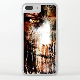 Nights Eyes Clear iPhone Case