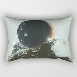 Final Eclipse Rectangular Pillow
