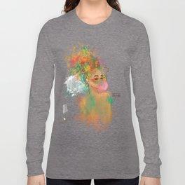 Bubble Gum Funky Girl Long Sleeve T-shirt