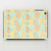 pineapples iPad Cases featuring Pineapples by stephstilwell
