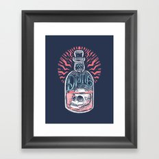 Drink or Die Framed Art Print