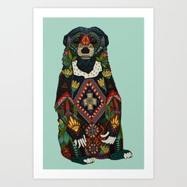 sun bear mint Art Print