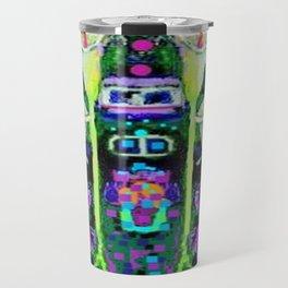 ARTY ART NOUVEAU CALLA LILIES DESIGN Travel Mug