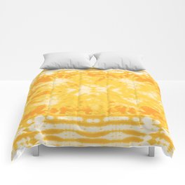 Shibori Beach Sun Comforters