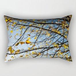 Birch Tree Photography Print Rectangular Pillow