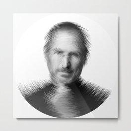 ArcFace  -  Jobs Metal Print