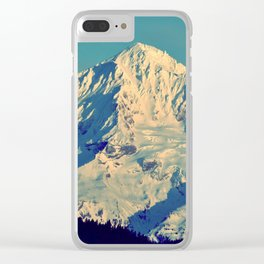 MT. HOOD - AT TWILIGHT Clear iPhone Case