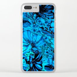 Days Blue By Clear iPhone Case