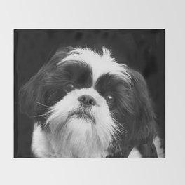 Shih Tzu Dog Throw Blanket