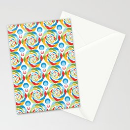Rose Abstraction Stationery Cards