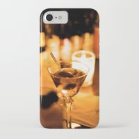 martini iPhone & iPod Cases featuring Martini by Ann Yoo