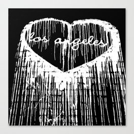 I Heart L.A. Canvas Print