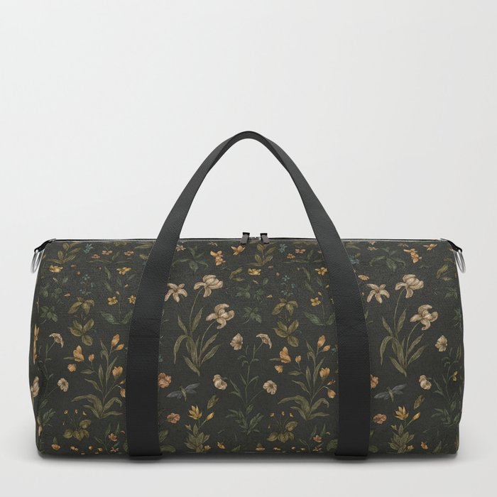 Old World Florals Duffle Bag