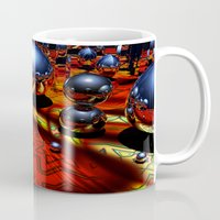 guardians Mugs featuring Guardians by Robin Curtiss
