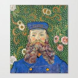 Portrait of the Postman by Vincent van Gogh Canvas Print