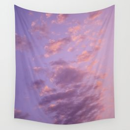 pastel sky Wall Tapestry
