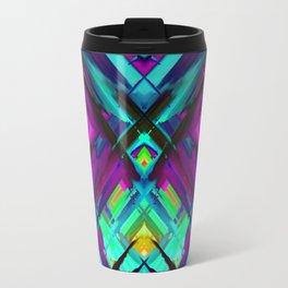 Colorful digital art splashing G472 Travel Mug