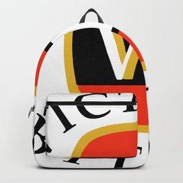 victoria bitter black Backpack