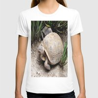 tortoise T-shirts featuring Tortoise by lennyfdzz